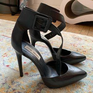 Steve Madden ankle strap pointy toe heels